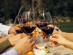 Cheers to red wine in Wine Country