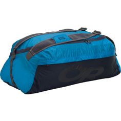 It's surprising (darn near impossible, really) that the Outdoor Research Antimatter Duffel can pack down into its own pocket and still boast highly water-resistant protection and comfortable features. Airmesh adjustable shoulder straps make this duffel worthy of daily hikes as well as weekend getaways, and fully taped seams ensure your electronics don't feel a drip on rainy days to the airport. An internal mesh storage pocket helps you separate your dirty clothes from your clean ones.