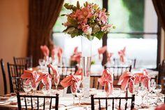 Fallbrook, California wedding - Tall floral arrangements