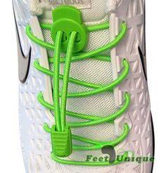 Lacets élastiques 3mm - Vert