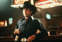John Travolta @ Gilley's in Pasadena, TX drinking Lone Star Beer in Urban Cowboy.
