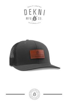 b387db4d 6606 (T) - Custom Yupoong Retro Trucker & 2-Tone. Custom Leather Patch Cap  ...