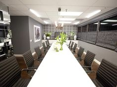 If ever I had a board room that I could decorate, I'd do it just like this. Courtesy of HGTV's Design Star Season 7