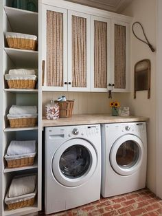 Waschküche Einrichten   33 Ideen Für Einen Modernen Wäscheraum | Laundry,  Mud Rooms And Mud Room Designs