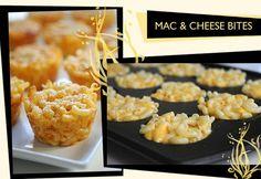 Mac n' Cheese Appetizers! Brilliant!