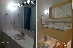 On Pinterest Floating Bathroom Vanities Vanities And Double Vanity