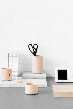 stylist mens desk accessories. Marsha Golemac stylist  homeware home Tofu Stationery Set modular desk organizers http www houzz com