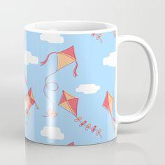 kites and clouds Mug