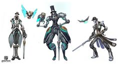Matias Tapia is an illustrator and concept artist from Chile who most recently worked on Gearbox's Battleborn.