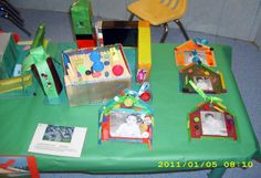 """""""Homes and Families Around The World"""" theme unit project- more fabulous houses my students made."""
