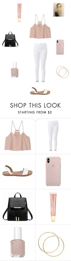 """Shopping Trip"" by gparijan on Polyvore featuring TIBI, J Brand, Steve Madden, Forever 21 and Essie"