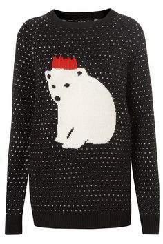 The last week in the office before Christmas calls for a Xmas jumper! Pair yours with a collared blouse underneath...