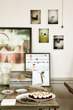 #nordicdesigncollective         Posters, trays and jewelry in Dreamy Pastels.