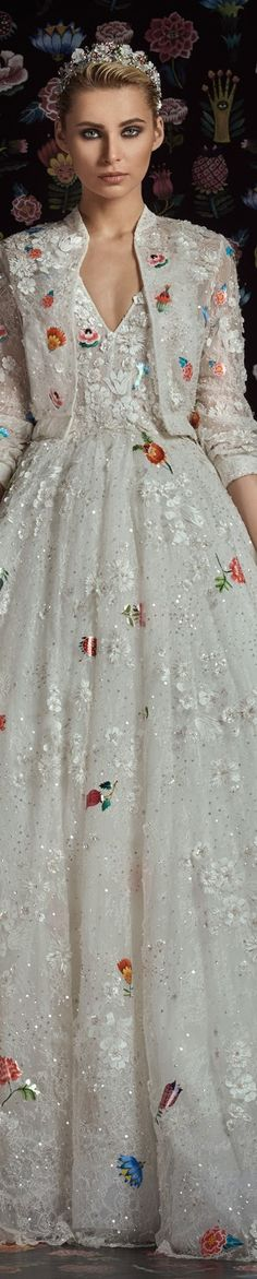 Rami Kadi fall 2016 couture