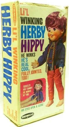 Li'l Winking Herby Hippy | 11 (Unintentionally) Scary Vintage Dolls That Will Make Your Skin Crawl