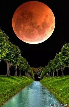 Cielos maravillosos! Full Moon