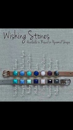 Keep Collective charms natural semi precious wishing stones birthstones elements