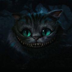 Chesire Cat - Alice in Wonderland - Tim Burton Cheshire Cat Tim Burton, Cheshire Cat Grin, Cheshire Cat Alice In Wonderland, Chesire Cat, Cheshire Cat Drawing, Cheshire Cat Tattoo, Tim Burton Kunst, Tim Burton Art, Cheshire Cat Wallpaper