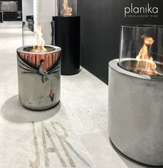 Decorating Ideas for your outdoor fireplace! Customize your fireplace the way you want. Bioethanol fireplace#outdoor decorating ideas# paint your fireplace#painting on concrete#Planika#Jar commerce #outdoor fireplace#home decor#garden decor#outdoor decor