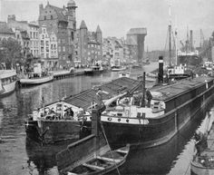 Danzig, Krakow Poland, Prussia, Historical Pictures, Places To See, Sailing, Germany, Europe, River