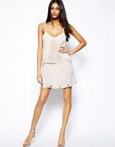 Image 4 ofLipsy Embellished Overlay Cami Dress