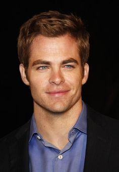 Chris Pine...Love his eyes!