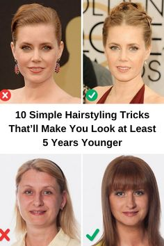 Your hairstyle plays a vital role in creating a harmonious image, making you look younger for several years. Read more at the link image