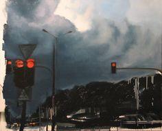 """Saatchi Art Artist Robert Bubel; Painting, """"'Nice Clouds, Dad'"""" #art"""