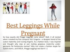 Look for designers with great moisture wicking and quick drying material in their Best Leggings While Pregnant. These have expanded to include a nursing product lines like the Leggings which serves as a great Leggings due to its comfort and ease of u. Best Maternity Leggings, Best Leggings, Baby Belly, Feelings, Black, Black People