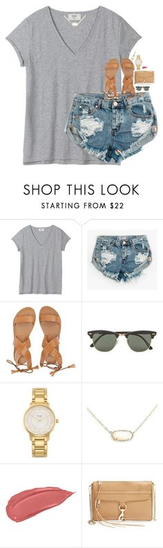 i woke up at 12:46 lmao by classynsouthern ❤ liked on Polyvore featuring One Teaspoon, Billabong, Ray-Ban, Kate Spade, Kendra Scott, Rebecca Minkoff and Honora