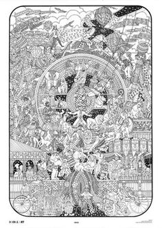 FAIRY TALES doodle art colouring poster: Thiswas uploaded by ...