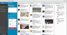 Use TweetDeck to manage multiple Twitter accounts in one windows. TweetDeck lets you add all your Twitter Accounts, and gives you a canvas to add multiple boards on to keep track of your Messages, Activity, Feeds, Mentions and much more; plug gives you the ability to Tweet to multiple accounts simultaneously.