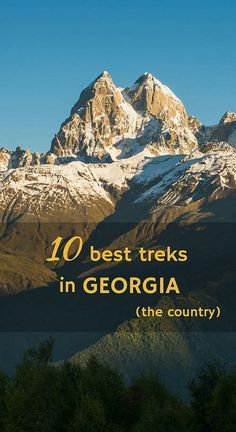 Best nine treks in Georgia
