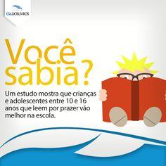 'Bora' incentivar nossas crianças a lerem. #BomDia e um ótimo final de semana! ;)
