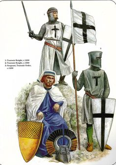 Soldiers of the Teutonic Order, 13th Century