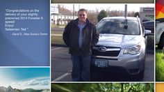 Dear David Smith   A heartfelt thank you for the purchase of your new Subaru from all of us at Premier Subaru.   We're proud to have you as part of the Subaru Family.