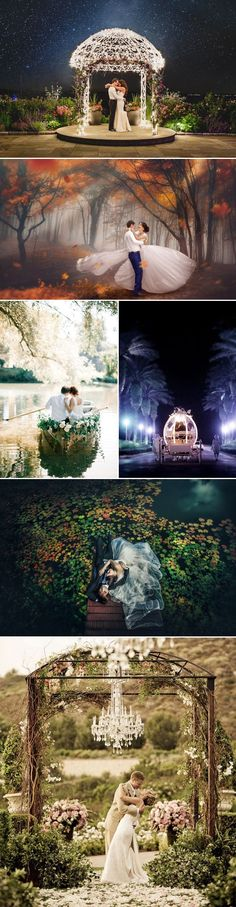 24 Wedding Photos That Look Like They Belong in Fairy Tales - Happily Ever After!