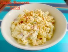 Classic Macaroni Salad - The perfect picnic recipe - Latin Cooking Diva