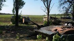 Нападение вооруженных террористов на украинский блок-пост под Волновахой. ФОТО+ВИДЕО