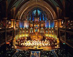 notre dame montreal   Basilique Notre-Dame de Montréal - Concerts