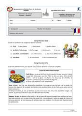 French Teaching Resources, Teaching French, Teaching Activities, French Language Lessons, French Language Learning, Food In French, French Practice, High School French, French Worksheets