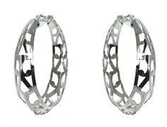 Soho Cut Out Hoop Earring $24.95 #leethal #accessories #fashion