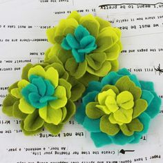New flowers by Donna Downey for Prima