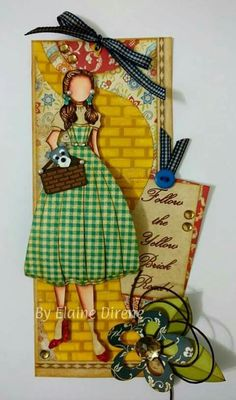 Dorothy do Mágico de Oz by Elaine Direne.
