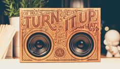 The Wooden Boombox is a line of portable Bluetooth music players built into a laser engraved wooden case. The company offers several unique styles, each de Boombox, Radios, Wooden Case, Dexter, Laser Engraving, Typography Design, Industrial Design, Joseph, The Past