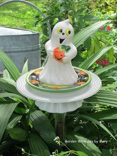 garden art - Garden Whimsies by Mary