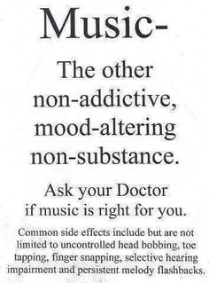 False. It is addictive and can be mood altering!!! Non-substance... Really?!