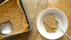 This hearty fruit-filled version of oatmeal is a great way to serve overnight guests; it mixes up in five minutes.