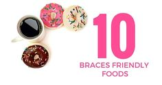 I just got braces and am paying for it dearly. My mouth is going on day 6 of hurting, but it IS getting better. Here are my top ten favori. Soft Food For Braces, Braces Food, Braces Tips, Teeth Braces, Palate Expander, Getting Braces, Brace Face, Soft Foods, Teeth Care