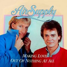 Russell Hitchcock and Graham Russell of the band Air Supply 1983